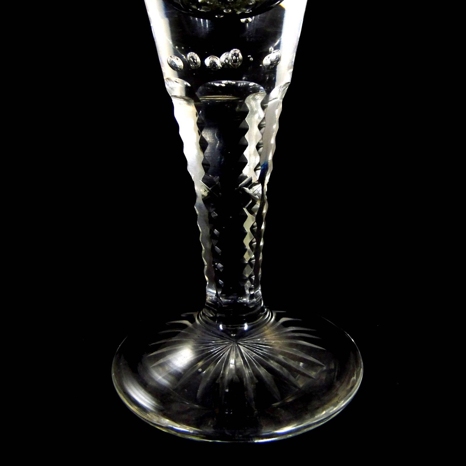 josephinenh tte 4 kl pokale aus farblosem glas mit eingestochenen luftblasen josephinenh tte. Black Bedroom Furniture Sets. Home Design Ideas