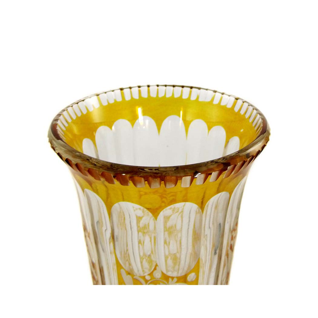 joh oertel in haida vase fachschule haida joh oertel 1915 antikes glas neuwirth. Black Bedroom Furniture Sets. Home Design Ideas