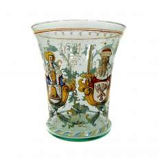 Gr. Cup with allegorical couple, Neuwelt to 1870-95