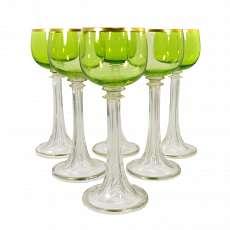 Uranium Glass B-114 Other Antique Glass Antiques Art Nouveau Glass Theresienthal