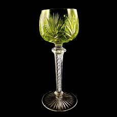 Goblet with air filigree Cristallerie Saint Louis, 1900